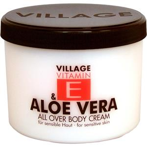 village-pflege-vitamin-e-body-cream-rose-500-ml