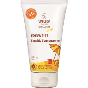Weleda - Sonnenpflege - Edelweiss Sensitiv Sonnencreme LSF 50