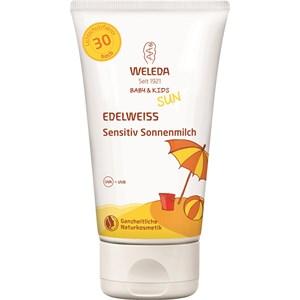 Weleda - Sonnenpflege - Edelweiss Sensitiv Sonnenmilch LSF 30