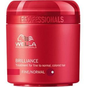 Wella - Brilliance - Brilliance Mask para cabello teñido fino o normal