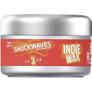 Wella Shockwaves - Styling - Indie Wax