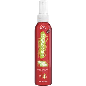 Wella Shockwaves - Styling - Texture N'Shine Styling Spray