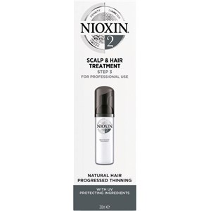 Nioxin - System 2 - Natural Hair Progressed Thinning Scalp & Hair Treatment