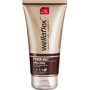 Wellaflex - Gel - Power Halt Form & Finish Gel