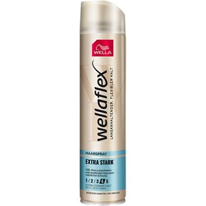 Wellaflex - Hairspray - Erittäin voimakas hiuslakka