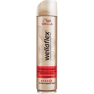 Wellaflex - Haarspray - Hitzestyle & Halt Haarspray