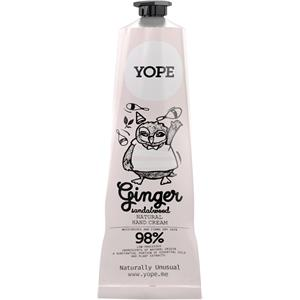 Yope - Hand care - Ginger & Sandalwood Natural Hand Cream