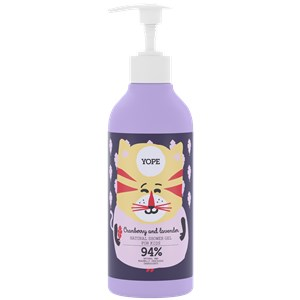 Yope - Body care - Cranberry & Lavender Shower Gel For Kids