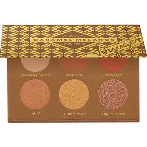 ZOEVA - Eye Shadow - Caramel Melange Eyeshadow Travel Palette