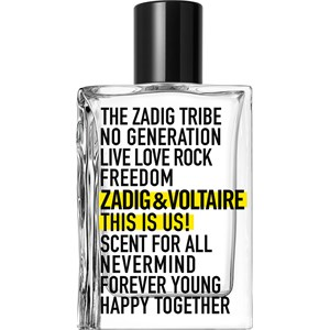 Zadig & Voltaire - This Is Us! - Eau de Toilette Spray