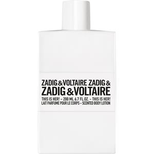 Image of Zadig & Voltaire Damendüfte This is Her! Body Lotion 200 ml
