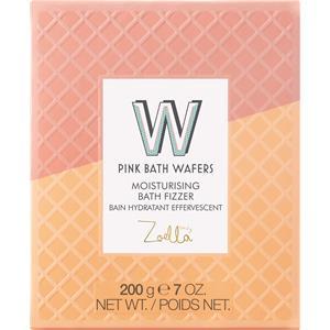 Zoella Beauty - Körperpflege - Pink Bath Wafers Moisturizing Bath Fizzer