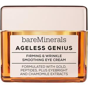bareMinerals - Augenpflege - Smoothing Eye Cream Ageless Genius Firming & Wrinkle