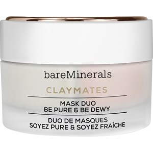 bareMinerals - Moisturising care - Claymates Mask Duo Be Pure & Be Dewy
