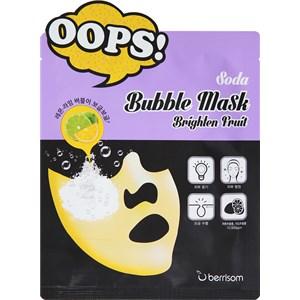 berrisom - Masken - Brighten Fruit Soda Bubble Mask
