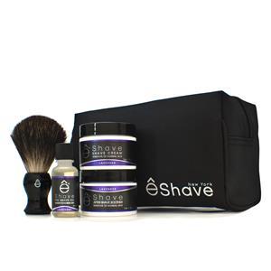 ê Shave Herrenpflege Rasurpflege LavendelStart up Kit Pre Shave Oil 15 g + Rasierpinsel + Shave Cream Lavendel 30 g + After Shave Soother Sensitive to Normal Skin Lavendel 30 g + Täschchen 1 Stk.