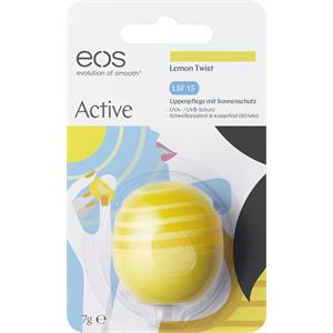 eos - Lippen - Lemon Twist Organic Lip Balm