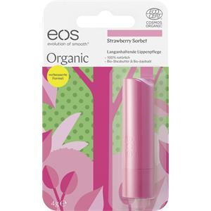 eos - Lippen - Strawberry Sorbet Organic Stick