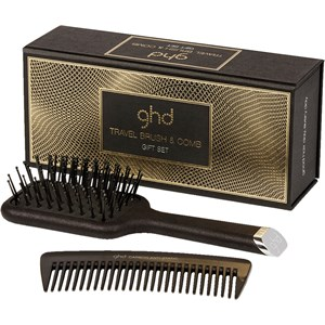 ghd - Haarbürsten - Travel Brush + Comb Gift Set