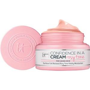it Cosmetics - Feuchtigkeitspflege - Confidence In A Cream Rosy Tone Vitality Moisturizer