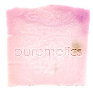 puremetics - Natur-Seifen - Reinigende Gesichtspflegeseife Wildrose