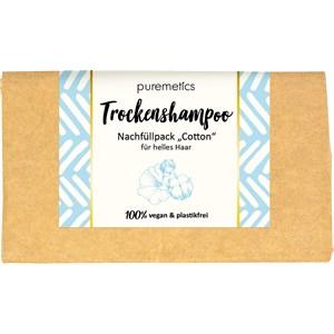 puremetics - Shampoo - Für helles Haar Trockenshampoo Cotton