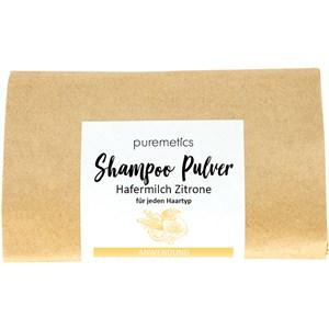 puremetics - Shampoo - Shampoo-Pulver Hafermilch Zitrone