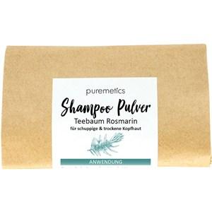 puremetics Pflege Shampoo Shampoo-Pulver Teebaum Rosmarin 50 g