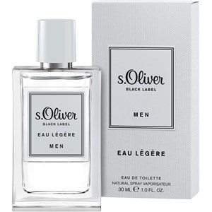 s.Oliver - Black Label Men - Eau Légére Eau de Toilette Spray