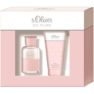 s-oliver-damendufte-so-pure-women-geschenkset-eau-de-toilette-spray-30-ml-bath-shower-gel-75-ml-1-stk-