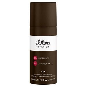 s.Oliver - Superior Men - Deodorant & Bodyspray