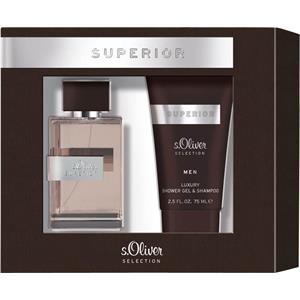 s.Oliver Herrendüfte Superior Men Geschenkset Eau de Toilette Spray 30 ml + Shower Gel & Shampoo 75 ml 1 Stk.