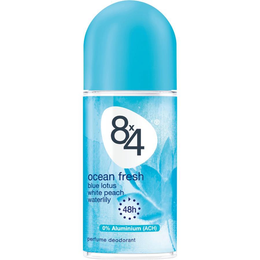 Women Ocean Fresh Deodorant Roll On By 8x4 Parfumdreams