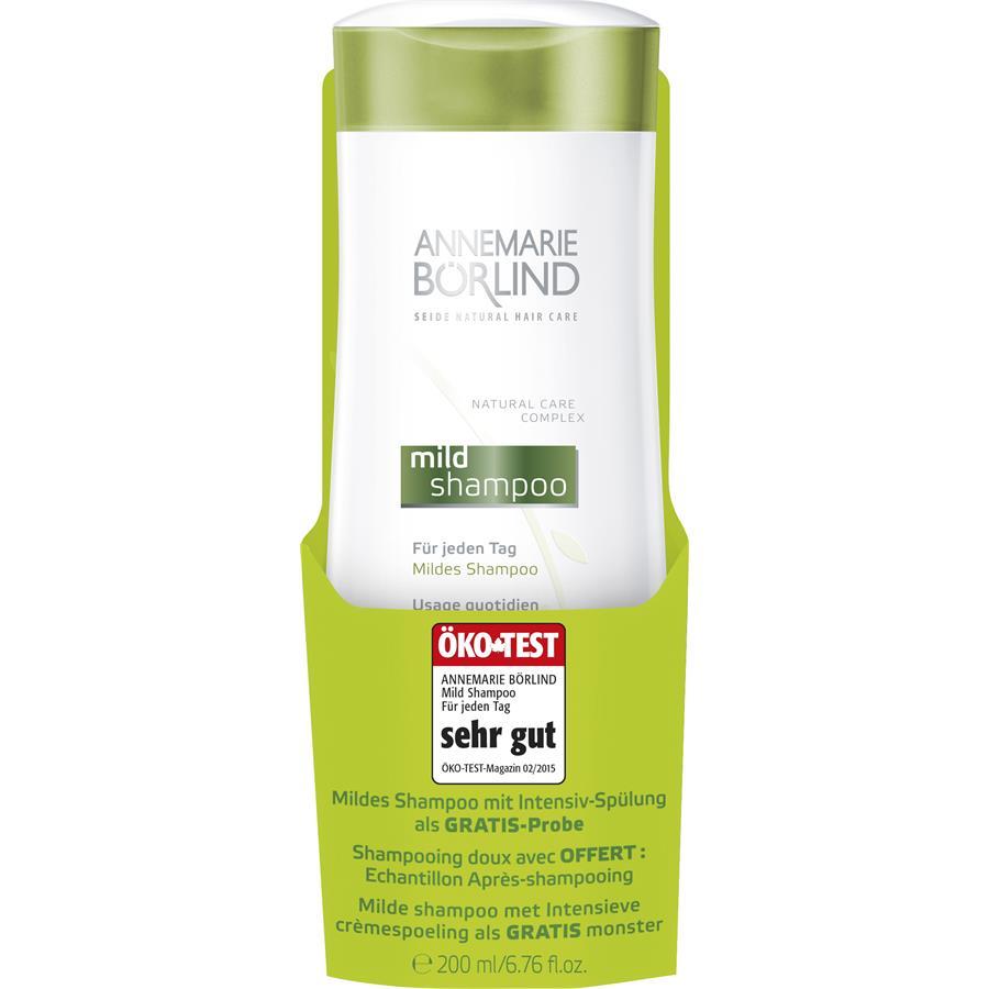 Shampoo Mildes Shampoo + Intensiv-Spülung Gratis-Probe von ANNEMARIE ...