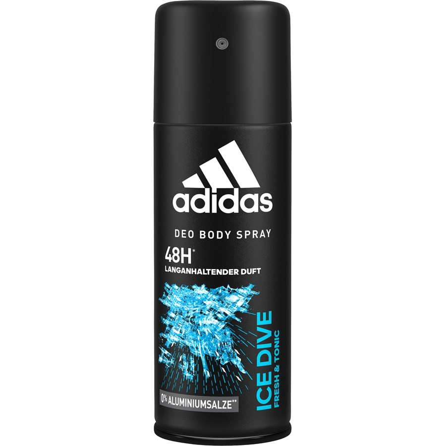Adidas Pure Game & Ice Dive Deodorant Body Spray Combo (Pack of 2), 150ml