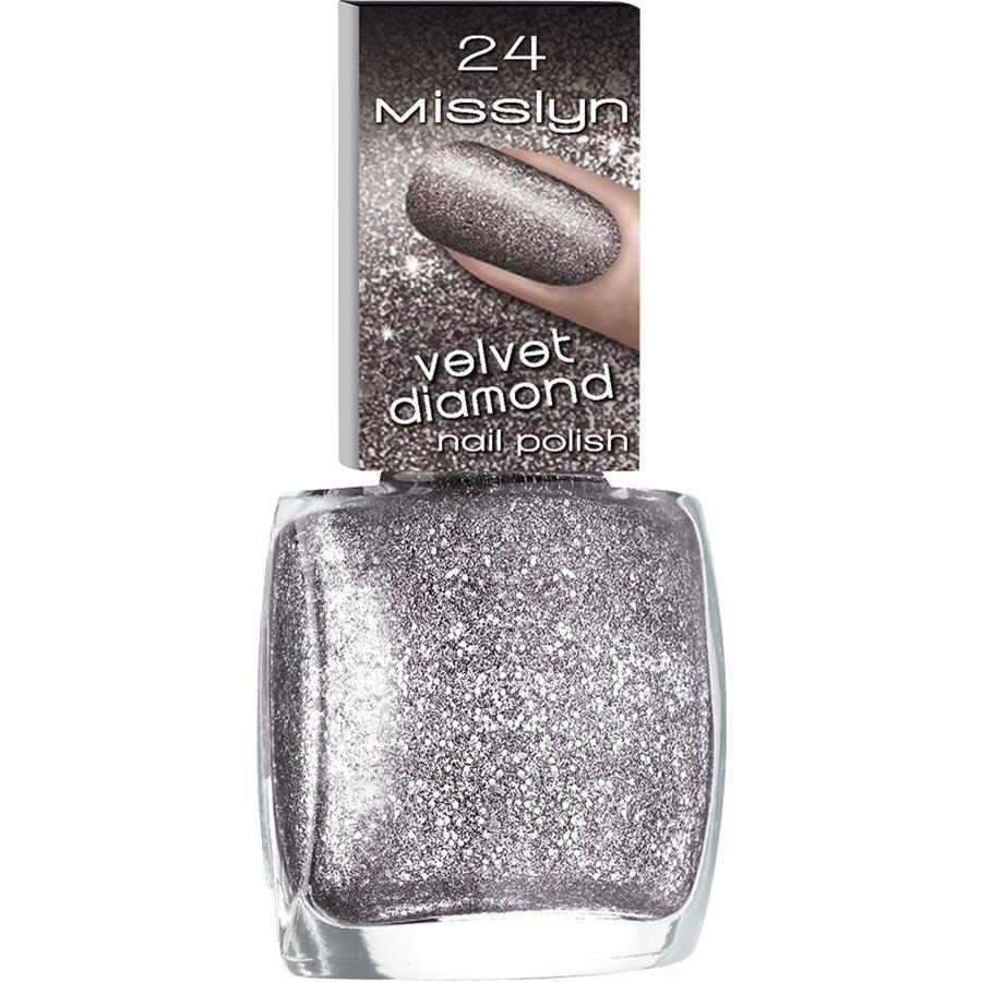 Nagellack Velvet Diamond Nail Polish von Misslyn   parfumdreams
