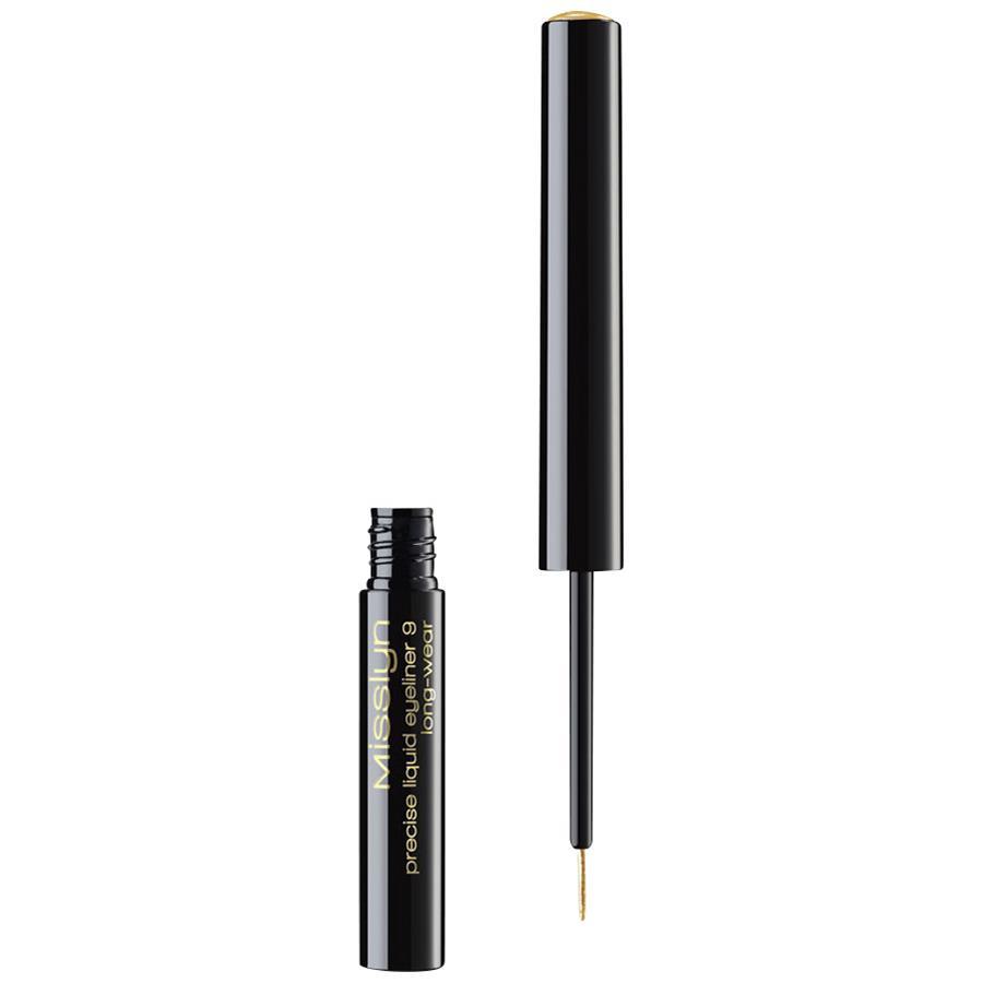 The Show Must Go On Precise Liquid Eyeliner Long Wear By Misslyn Jill Beauty Gel Liner Black Enlarge Image