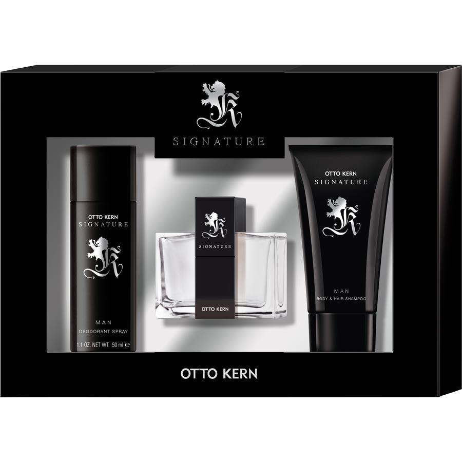 signature man geschenkset von otto kern parfumdreams. Black Bedroom Furniture Sets. Home Design Ideas
