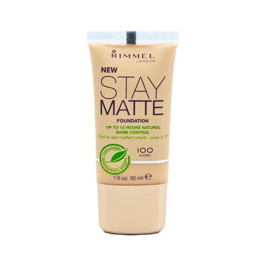 Gesicht Stay Matte Foundation Von Rimmel London Parfumdreams Bild Vergrern