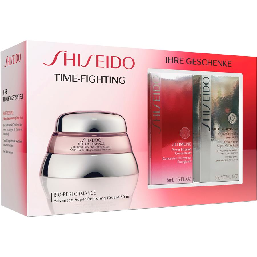 bio performance time fighting set by shiseido parfumdreams. Black Bedroom Furniture Sets. Home Design Ideas