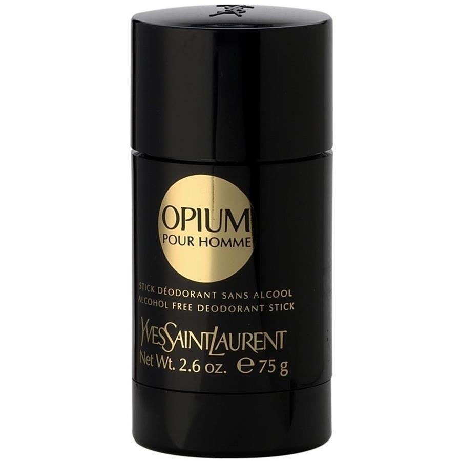 opium homme deodorant stick ohne alkohol von yves saint laurent parfumdreams. Black Bedroom Furniture Sets. Home Design Ideas