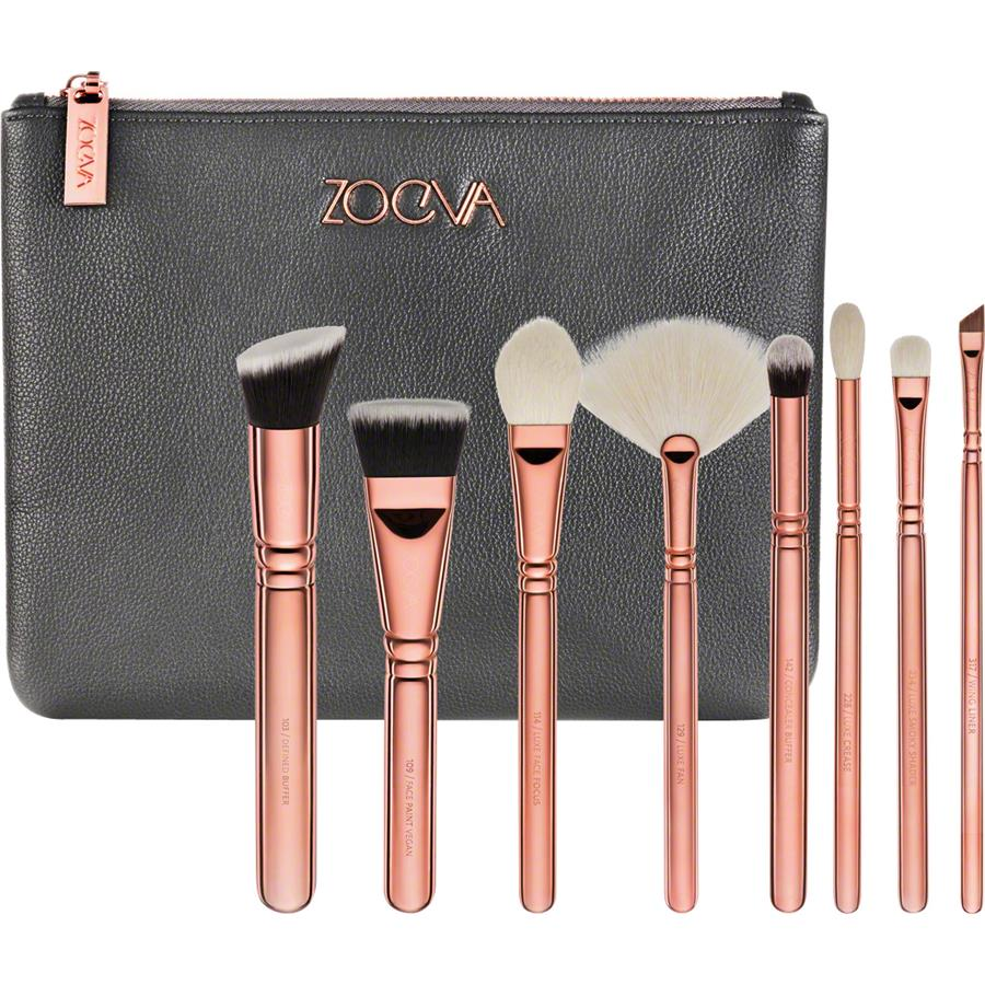 85a76f6c89401e Pinselsets Brush Set Rose Golden Luxury Set Vol.3 von ZOEVA ...