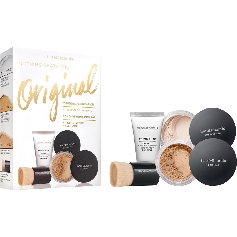 Foundation Original Get Started Kit Medium Beige By Bareminerals