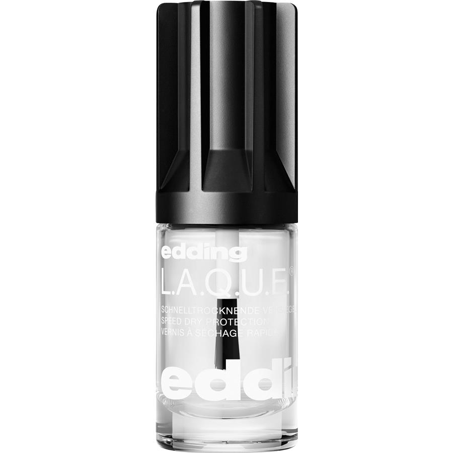 nägel l.a.q.u.e. top coat von edding | parfumdreams