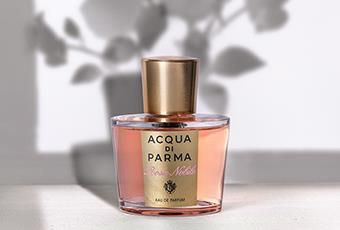 ac90e4adb875f As delicate as a rose and as tender as a woman herself - the Rosa Nobile  line by Acqua di Parma is an ode to unconditional femininity