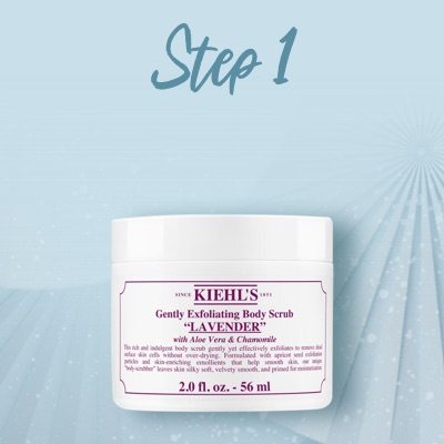 Kiehl's Body Scrub Lavender