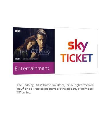 3 Monate Sky Entertainment Ticket