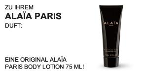 Alaïa Paris Body Lotion 75 ml - Teaser -