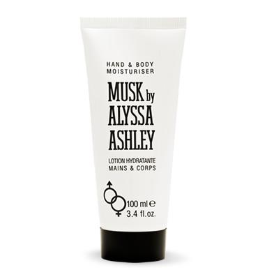 Alyssa Ashley Musk Hand & Body Moisturizer