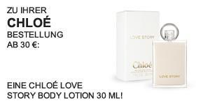 Chloé LOVE STORY Body Lotion 30 ml - Teaser -